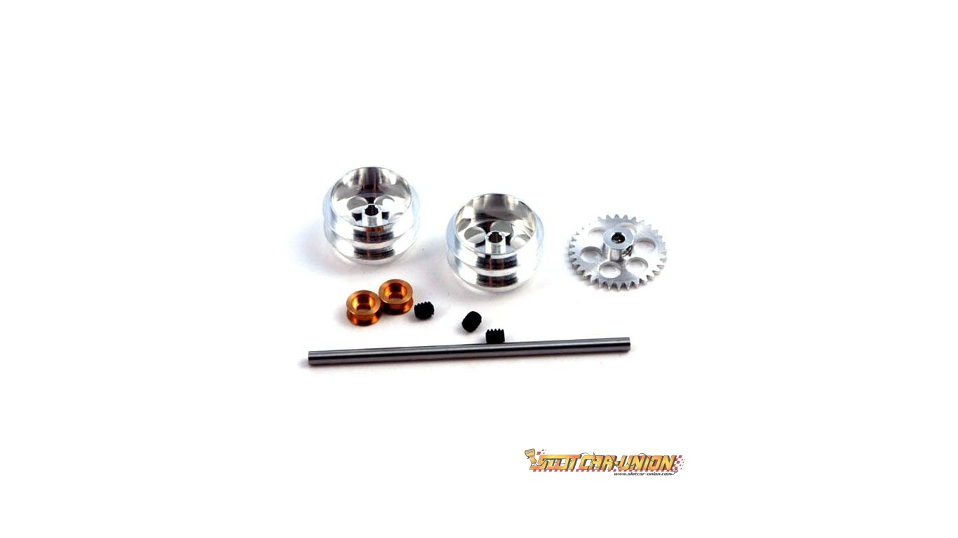 Nsr Rear Kit With 17 Wheels For Nsr Sidewinder