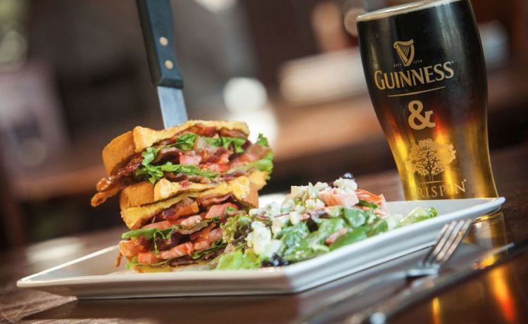 BLT with Guinness