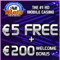 5 free for all slots mobile