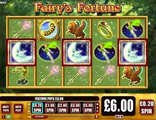 FAIRY'S FORTUNE SLOT