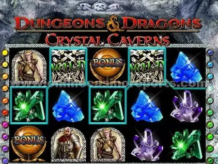 Dungeons and Dragons slot reels