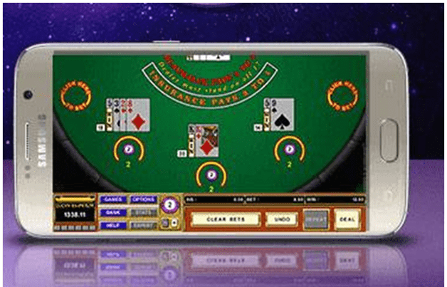 What are Android Cashback online casinos to play casino war