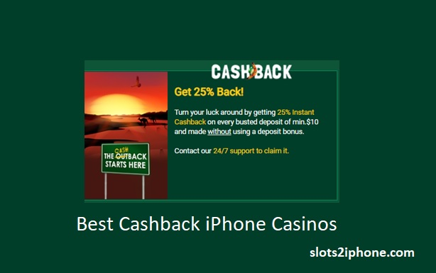 Best Cashback iPhone casinos