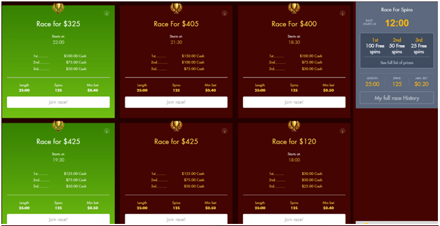 Slot races to play online
