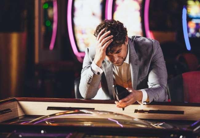Most gamblers lose