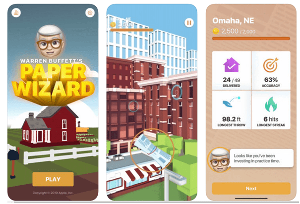 Paper Wizard new game app