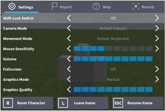 Roblox app- chat option