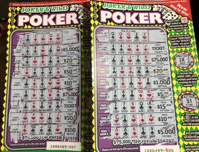 Scratch-off tickets are worse