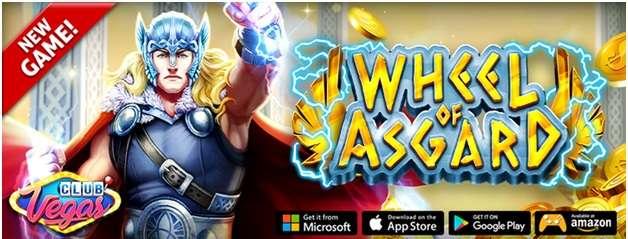 Wheel of Asgard new game app