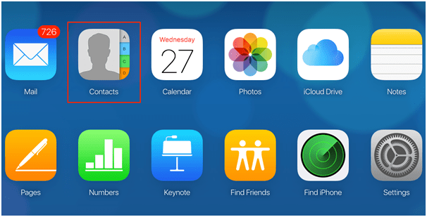 Recover deleted contacts via iCloud