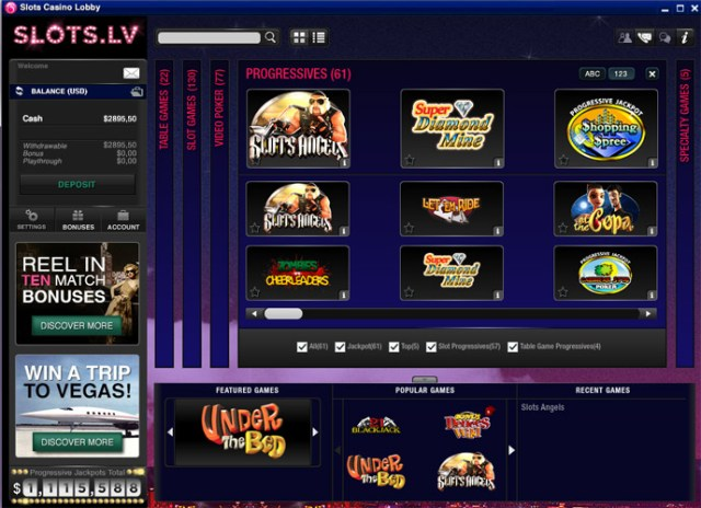 Slots.lv Casino - Click to Play