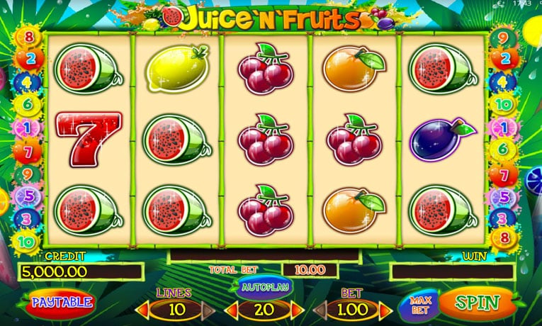 Spiele Juice And Fruits - Video Slots Online