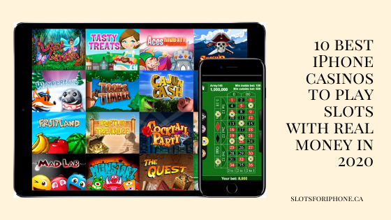 10 best iPhone casinos to play slots with real money in 2020