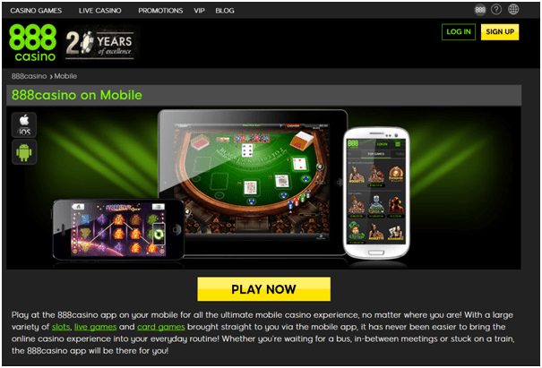 888 Casino Canada- Play slots, live casino with iPhone
