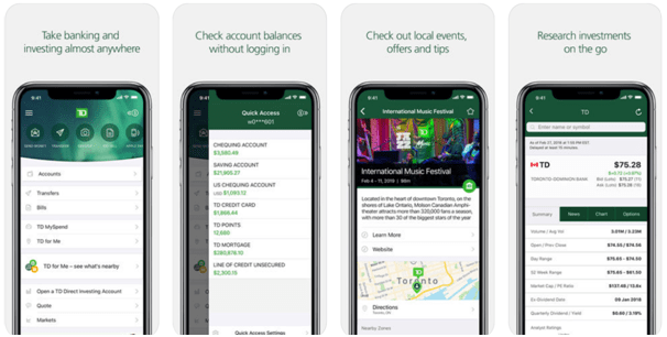 Request Interac e-Transfers via SMS with TD Canada App