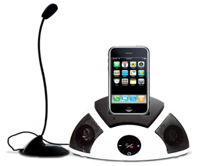 Answer Your Call with An iPhone Speaker