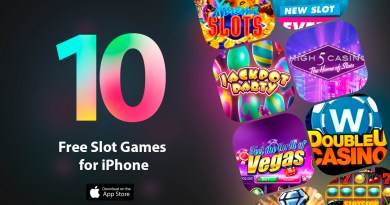 Best 10 Free Slot Games for iPhone