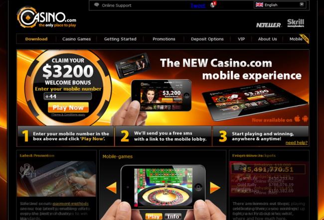 Best for Beginners Casino.com