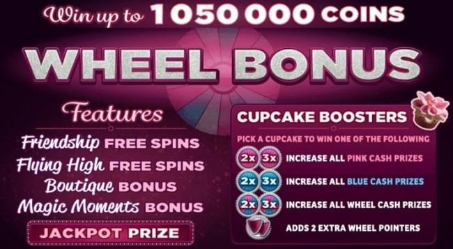 Bridesmaid free spins