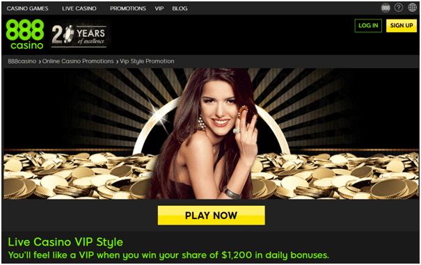 Casino Bonus- VIP Bonus