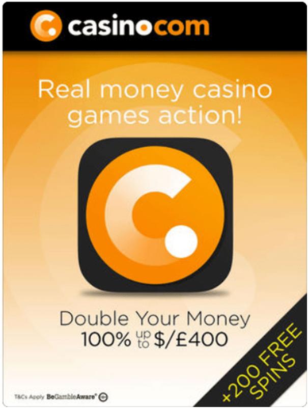 Casino.com- No deposit