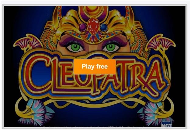 Cleopatra Slot machine- how to play