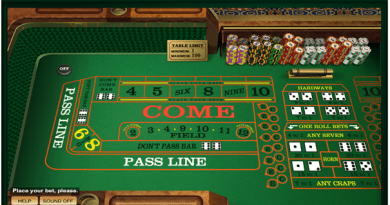 How to play Craps online