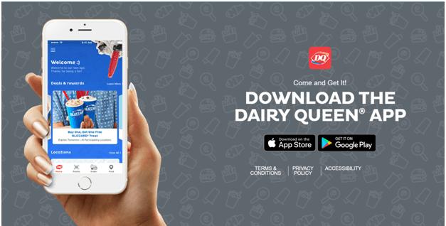 Dairy Queen App Canada