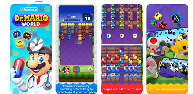 Dr Mario World game app