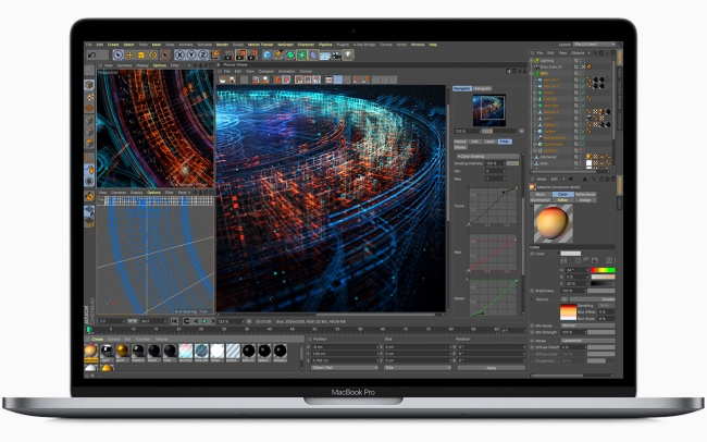 8-core MacBook Pro is now stronger with Improved Butterfly Keyboard Design 1