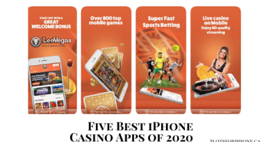 five best iPhone casino apps