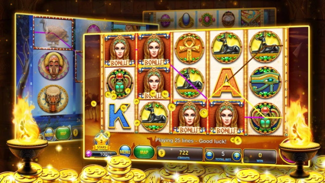Gameplay -Slots – Vegas free Casino
