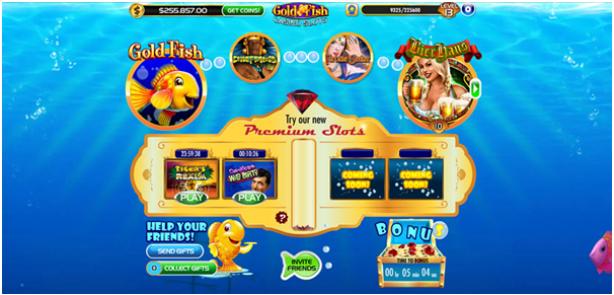 Gold Fish Casino App Features
