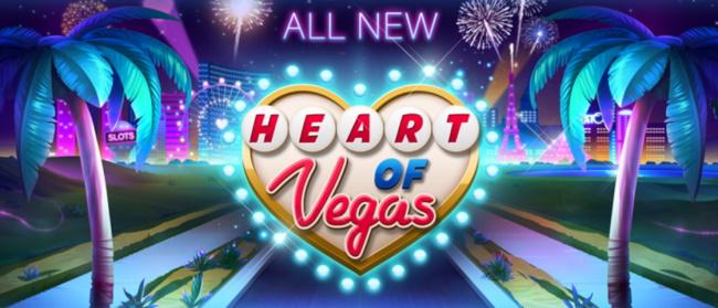 Heart of Vegas Slots App