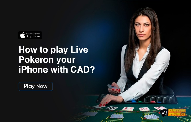 How to play Live Poker on your iPhone with CAD