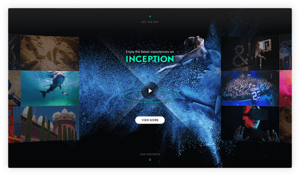 Inception VR app