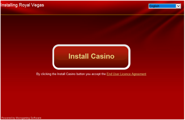 Installing-Royal-Vegas to learn how to play casino games