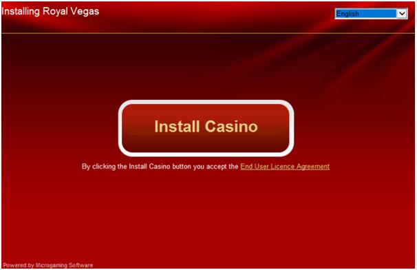 Installing Royal Vegas