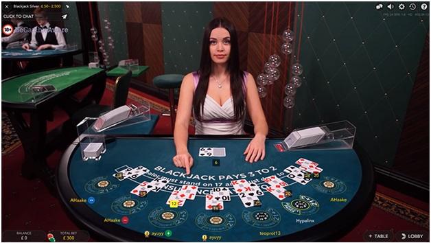Live Blackjack to play