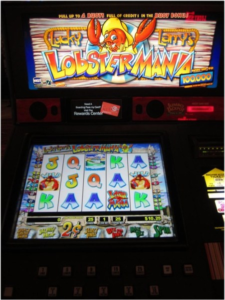 Lucky Larry lobstermania slot how to play