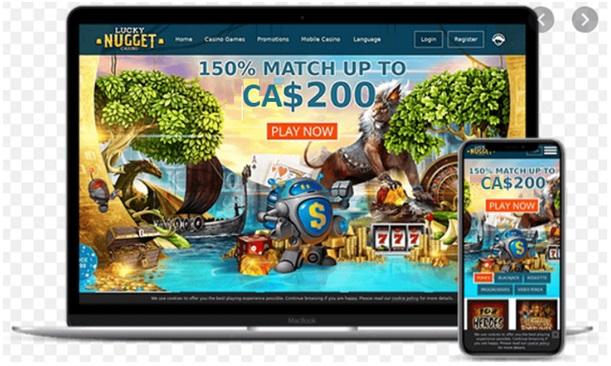 Lucky Nugget Casino Canada- Mobile Games