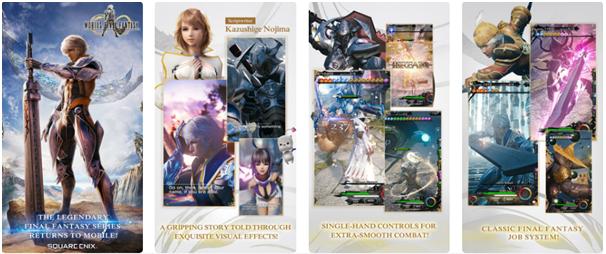 Mobius Final Fantasy game