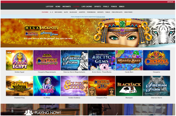 Play Now casino CAD