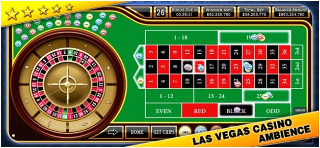 Roulette Casino style app