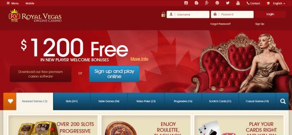 Royal Vegas Online Casino Canada