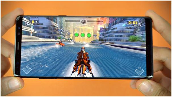 Samsung Galaxy Note 8 Slot games