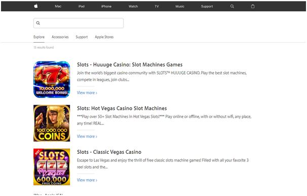 Slots at App store