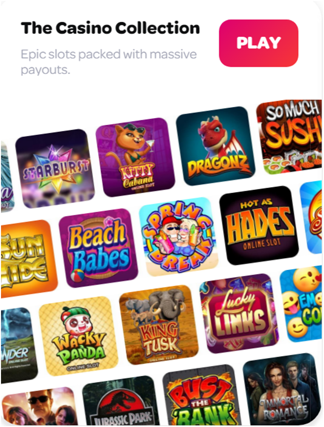 Spin Casino iPhone games