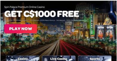 Spin Casino CAD bonus