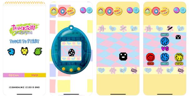 Tamagotchi app